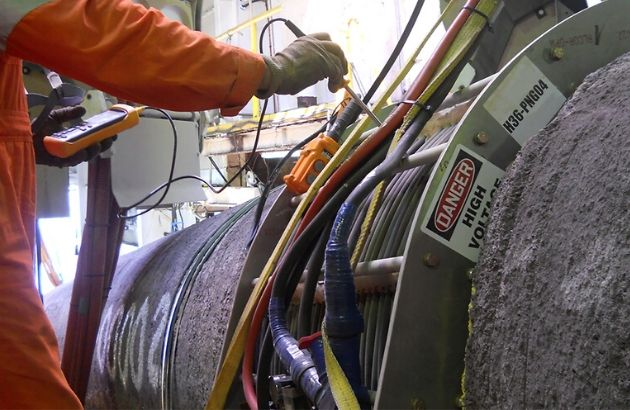 OFFSHORE INDUCTION HEATING