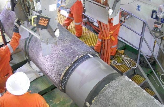 offshore surface preparation